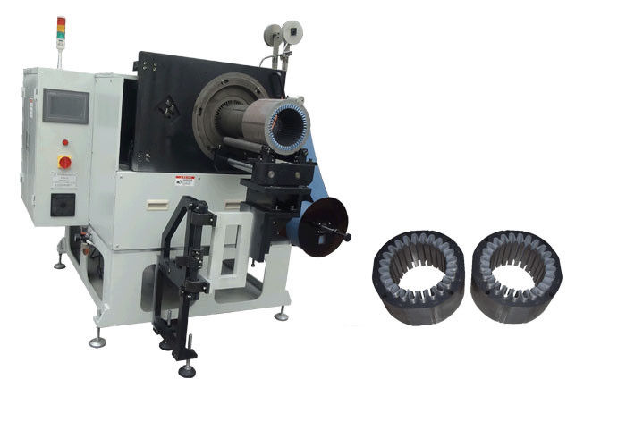 Motor Stator Slot Insulation Induction Motor Winding Machine