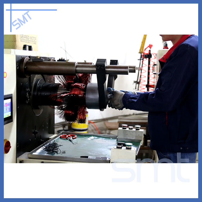 Horizontal Motor Stator Winding Inserting Machine 380V 50Hz / 60Hz